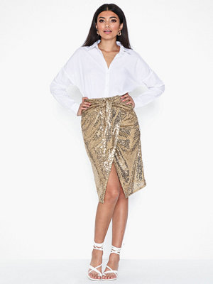 NLY Trend Goldie Midi Skirt