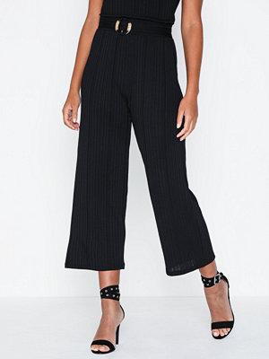 Vero Moda svarta byxor Vmpoppy Culotte Pant W Belt SB6