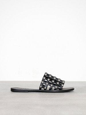 Pieces Pscandra Leather Sandal