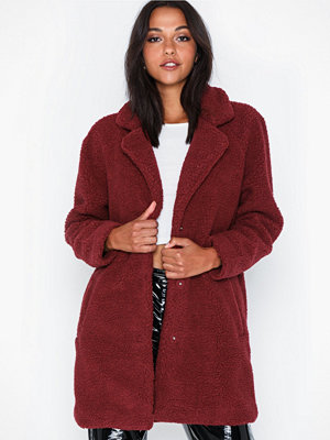 Fuskpälsjackor - Only Onlaurelia Sherpa Coat Cc Otw