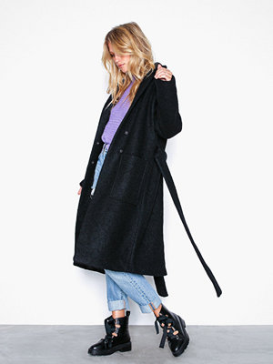 Noisy May Nmzoe L/S Coat Noos Svart