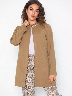 Jacqueline de Yong Jdynew Brighton Coat Otw Noos Ljus Brun