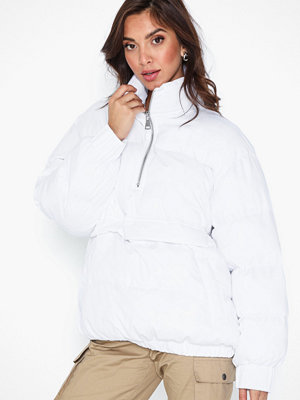 Missguided Windbreaker Puffer