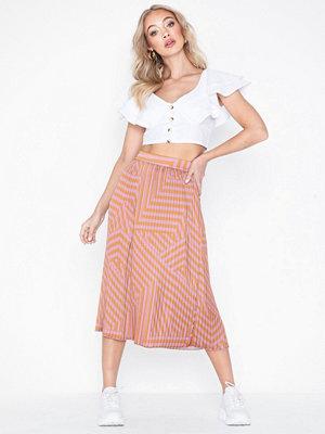 MOSS Copenhagen Tessa Pleated Skirt Aop