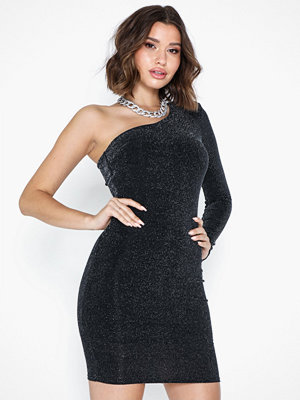 NLY Trend One Shoulder Sparkling Dress