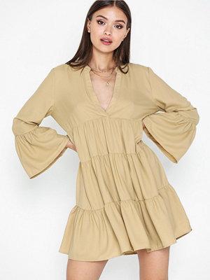 Only Onlathena 3/4 Solid Dress Wvn