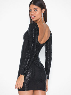 NLY One Scoop Back Sequin Dress