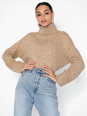 Topshop Knitted Super Soft Funnel Neck Jumper