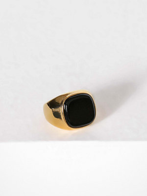 WOS ring Roger Black/Gold