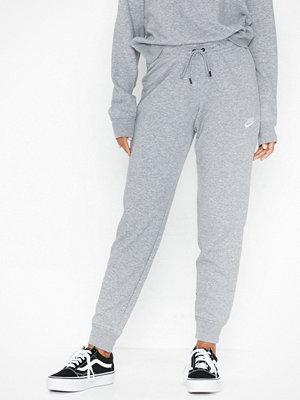 Nike ljusgrå byxor W Nsw Essntl Pant Tight Flc