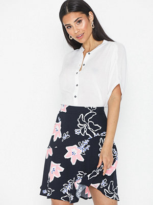 Selected Femme Slfrinna Mw Aop Short Skirt B