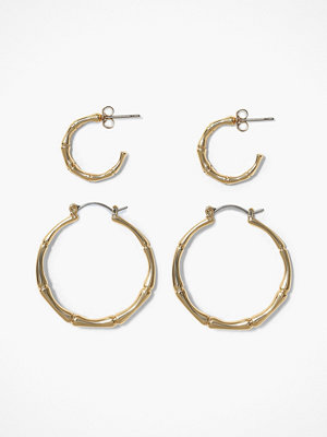 Pieces örhängen Pcjambu Hoop Earrings 2-Pack D2D Pb