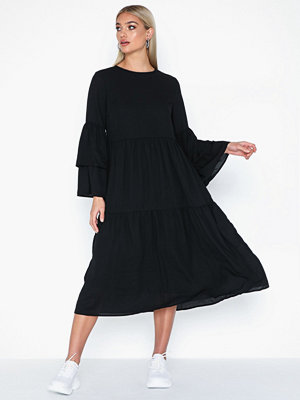 Pieces Pcjass Ls Midi Dress