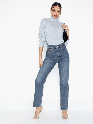 Topshop Mid Blue Dad Jeans