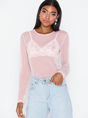 NLY Trend Loveable Mesh Top