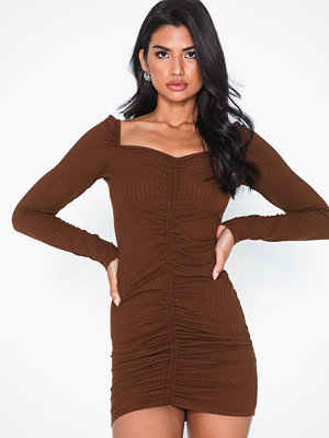 NLY Trend Rib Rouched Dress