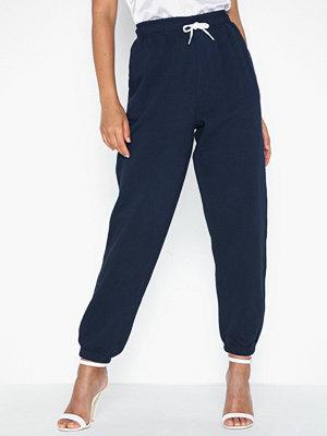 Polo Ralph Lauren marinblå byxor Po Sweatpant-Ankle-Pant