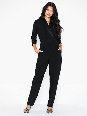 Closet Tuxedo Collar Jumpsuit