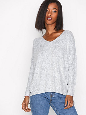 Only onlKLEO L/S V-Neck Pullover Knt Noo