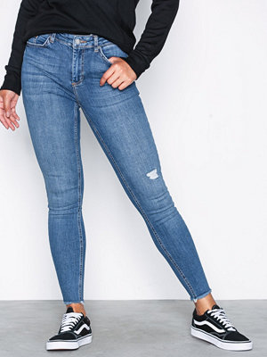 Jeans - Pieces Pcfive Delly B185 Mw Skn Cr Jns Mb