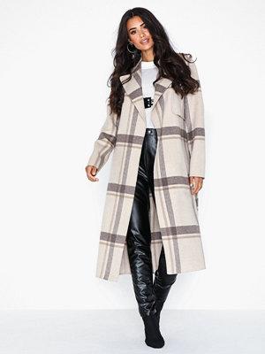 Selected Femme Slftana Ls Check Coat B