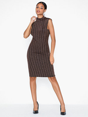 Vila Visual Highneck S/L Dress