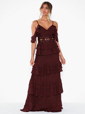 True Decadence Strappy Maxi Dress