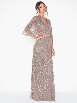 Maya Delicate Sequin Maxi Dress