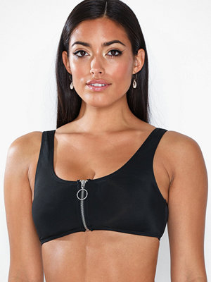 NLY Beach Zip It Bikini Top