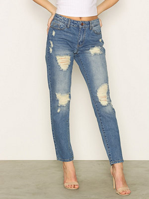 Jacqueline de Yong Jdyjazz Boyfriend Jeans Dnm RPT1 No
