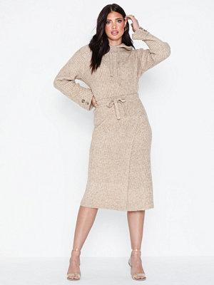 Pieces Pchuna Midi Knit Skirt