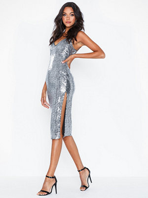 NLY Eve Sequin Slip Dress