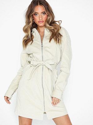 NLY Trend Zip Front Corduroy Dress