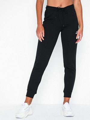 Nike svarta byxor W Nsw Essntl Pant Tight Flc