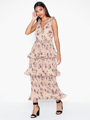 Festklänningar - True Decadence Floral V Neck Dress
