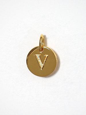Syster P smycke Beloved Mini Letter V