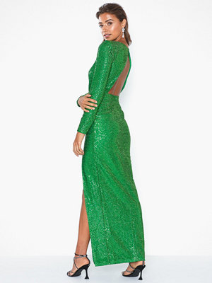 NLY Eve Sparkling Slit Gown