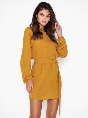 Ax Paris Long Sleeve Belt Mini Dress