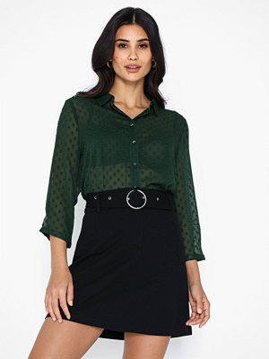 Jacqueline de Yong Jdyoctan 3/4 Loose Shirt Wvn