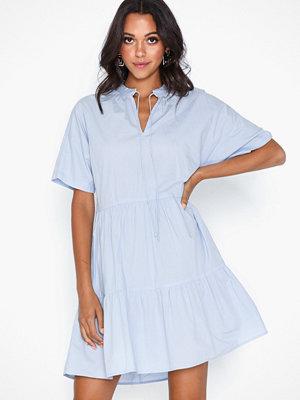 Pieces Pcmarry Ss Dress D2D Blå