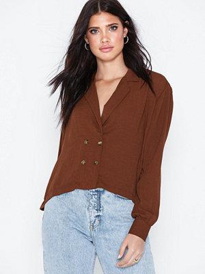 NLY Trend Button Blazer Shirt