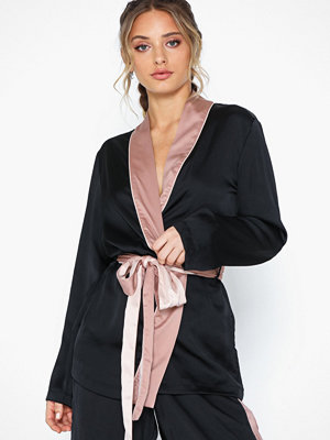 Hunkemöller Kimono Jacket Satin Nightshade