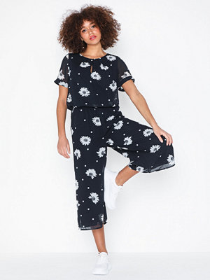 Jumpsuits & playsuits - Selected Femme Slforiana Ss Cropped Jumpsuit B