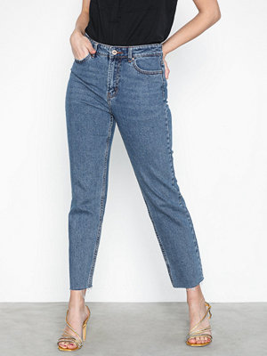 Jeans - Only Onlemily Hw St Raw Crp Ank Mae 0005