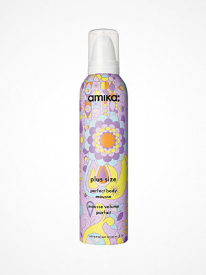 Hårprodukter - amika Plus Size Perfect Body Mousse 251ml