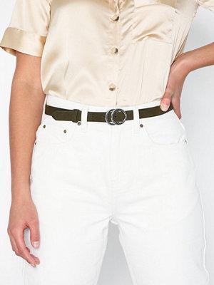 Bälten & skärp - Pieces Pckarren Suede Jeans Belt