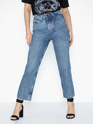 Only Onlroxy Hw Straight Dnm Jeans Cre