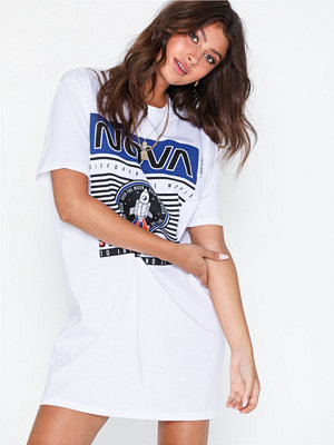 NLY Trend Space Print Tee Dress