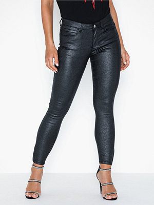 Noisy May Nmkimmy Nw 7/8 Glitzy Jeans JJ001BL
