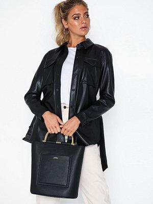 Handväskor - Lauren Ralph Lauren Classic Pebble-Leyton 28-Tte-Med